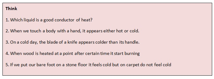 examples of good conductors of heat and electricity
